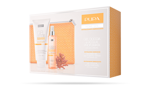 Shower Gel and Scented Water Revitalizing Energizing - PUPA Milano