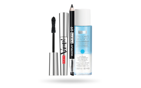 Kit Vamp! Mascara & Mini Multiplay & Two-Phase Make-up Remover