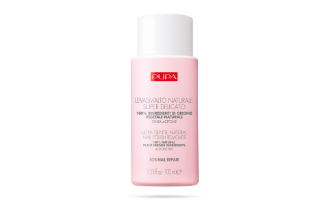 SOS NAIL REPAIR Ultra Gentle Natural Nail Polish Remover - PUPA Milano