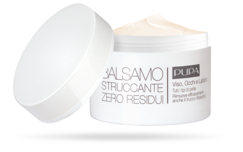 ZERO RESIDUE MAKE-UP REMOVING BALM All skin types - PUPA Milano