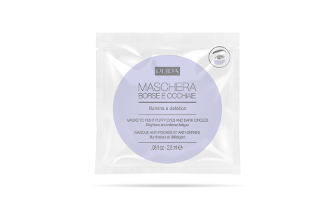 MASK TO FIGHT PUFFY EYES AND DARK CIRCLES - PUPA Milano