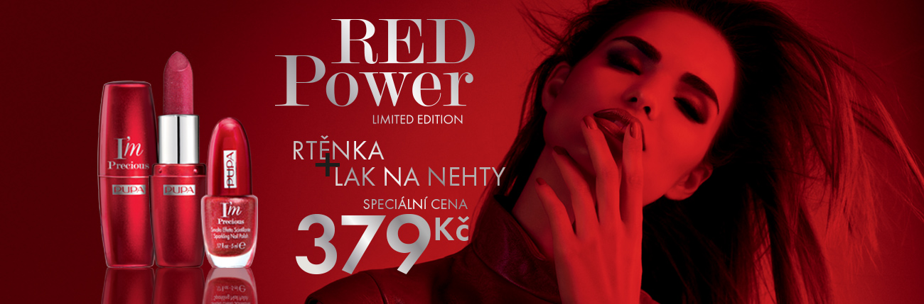 Akce Red Power - PUPA Milano