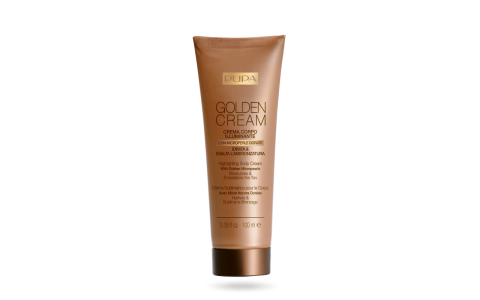 Golden Cream Highlighting Body Cream
