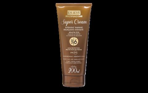 Super Cream   Intensive Tanning SPF 6